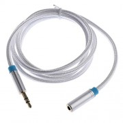 ELECTROPRIME® 3.5mm Male to Female AUX Extension Adapter Cable Stereo Audio for Headset 1m