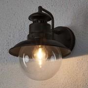 Lindby Romantic round outdoor lamp rust brown IP44 - Eddie