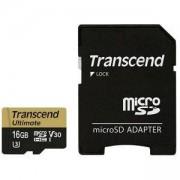 Карта памет Transcend 16GB microSDHC UHS-I U3M, MLC, TS16GUSDU3M