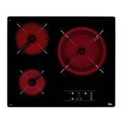 TEKA Placa de Vitrocerámica TEKA TB 6315 (Caja Abierta - Eléctrica - 60 cm - Negro)