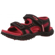 Footfun (from Liberty) Boys Habana Red Floaters and Sandals - 2 UK