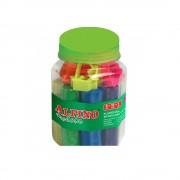Kit plastilina cu forme modelaj 8 culori ALPINO