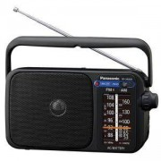Портативно радио с цифров тунер Panasonic RF-2400DEG-K, FM/AM, черно