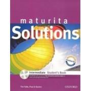 OXFORD Maturita Solutions Intermediate Student´s Book with Multi-ROM (CZEch Edition) - Tim Falla