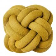 Design House Knot Kudde Gul 30 cm