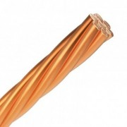 efectoled.com Conductor 35mm² de Cobre Desnudo Cobre - Unidad de medida: 1m