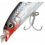 10g 9cm Trulinoya 3D Eyes Minnow Floating Fishing Hard Lure CrankBait Tackle Treble Hook Diving 0.5m With Box Carry