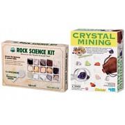 Geo Mysteries Rock & Crystal Mining Kit