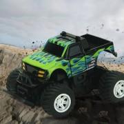 8024 1: 58 4CH Mini RC Off Road Auto Con Control Remoto (negro + Verde)