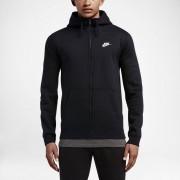 Nike Huvtröja Nike Sportswear Full-Zip för män - Svart