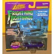 Frightning lightnings JOHNNY LIGHTNING limited edition CHRISTINE dark blue series 3 (Elvira artwork on card) by Playing Mantis