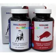 BullBlood kapszula 60 db, és RedLine kapszula 60 db, csomagban - XXL Powering