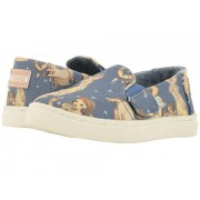 TOMS Luca Disneyreg Princesses (InfantToddlerLittle Kid) Blue Snow White Printed Canvas