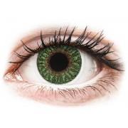 TopVue Color Green - plano (2 lenses)