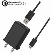 Fast Turbo Charging Speed/Wall Charger with 1 Meter Charging Cable Compatible for All Motorola and All smartPhones