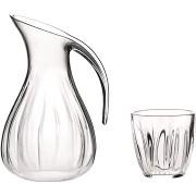 Guzzini Szett 2l-es műanyag kancsó és 6 db 350ml-es pohár