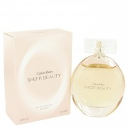 Sheer Beauty by Calvin Klein Eau De Toilette Spray 3.4 oz