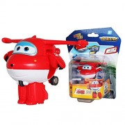 Mini Super Wings Deformation Mini JET ABS Robot Toy Action Figure Super Wing Transformation Toy