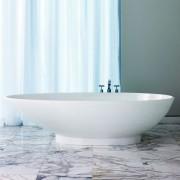 Vasca da bagno freestanding Napoli 191x50 cm bianco