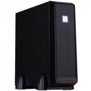 CASE, E-mini 3019, Mini-ITX, Black/Silver (CASEM3019SDC5A