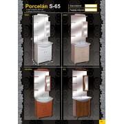 GUIDO PORCELÁN S-65 Fürdőszobaszekrény komplett