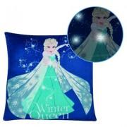 """Frozen Disney Frozen II Kissen Elsa """"Winter Queen"""" mit LED's"""