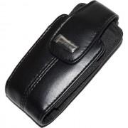Blackberry Custodia Originale 150086 Da Cintura Con Clip Girevole Universale Pelle Black Per Modelli A Marchio Philips