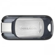 Флаш памет USB SanDisk Ultra USB Type-C, 64GB, Черен, 130Mb, SD-USB-CZ450-064G-G46