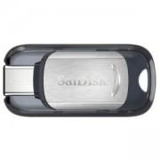 Флаш памет USB SanDisk Ultra USB Type-C, 64GB, Черен, 130Mb, SD-USB-CZ450-064G-G46
