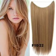 Flip in vlasy - 55 cm dlouhý pás vlasů - odstín F10/22 - Světové Zboží