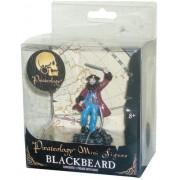 Pirateology 3 Inch Tall Pirate Mini Figure : Black Beard With Display Stand