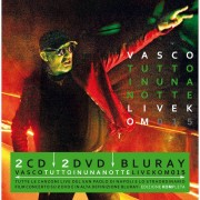 Universal Music Vasco Rossi - Tutto in una notte - Live KOM 2015 - 2CD+2DVD+Blu-Ray