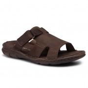 Чехли LASOCKI FOR MEN - MI08-C271-320-15 Chocolate Brown
