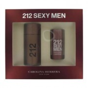 Carolina Herrera 212 Sexy 3.4 oz / 100.55 mL Eau De Toilette Spray + 2.6 oz / 76.89 mL Deodorant Stick Gift Set 465382