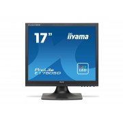 IIYAMA ProLite E1780SD-B1 Monitor Led 17 1280 x 1024 TN 250 cd m2 1000:1 5 ms DVI-D, VGA altoparlanti nero