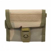 600D Nylon Tactical Wallet tarjeta clave de colgar el bolso - Tres de Sandy