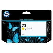 HP No70 Yellow Ink Cartridge with Vivera Ink, 130ml (C9454A)