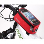 Aeoss Bike bag handle bar Bicycle Road Bag Mobile Phone Tube Front Bike Frame Waterproof Cell Phone Bag D 'Water Multifu