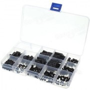 260 M3 Nylon Black Hex Screw Nut MF Stand-Off Set Assortment Kit Boxp