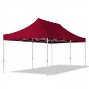 TOOLPORT Pop Up Gazebo 3x6m High Performance Polyester 400 g/m² red waterproof