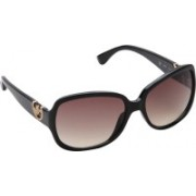 Michael Kors Over-sized Sunglasses(Brown)