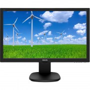"Monitor PHILIPS 243S5LJMB, Full HD, 23.6"", 1 ms, HDMI, VGA, DisplayPort, USB, Negru"