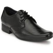 Big Junior Black Formal Shoes Lace Up For Men(Black)