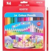 Creioane colorate EPENE corp hexagonal 24 culori-cutie