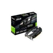 Placa de Vídeo VGA NVIDIA ASUS GEFORCE GTX 1060 3GB GDDR5 PH-GTX1060-3G 90YV0A64-M0NA00