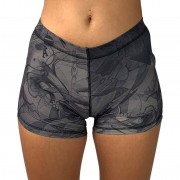 GraffitiBeasts Mr. Wany - Dames shorts ontworpen door een bekende graffiti kunstenaar - Multicolor - Size: Small