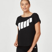 Scoop Logo T-Shirt - M - Wit