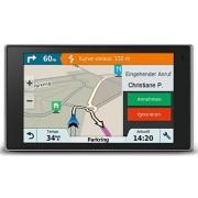 """Garmin DriveLuxe 51 EU LMT-S Navigatore 5"""", Case in Metallo Satinato, Mappa Europa Completa, Aggiornamento a Vita, Servizi Live via Bluetooth"""