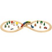 Fa vasút viadukttal Figure or Eight Train Set BJT012