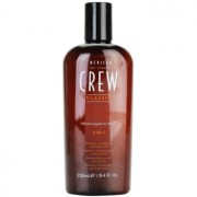 American Crew Classic champú, acondicionador y gel de ducha 3 en 1 para hombre 250 ml